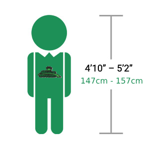 "Adults 4'10"" – 5'2"" 147cm - 157cm [Hardtail & Full Suspension]"