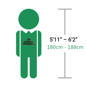 "Adults 5'11"" – 6'2"" 180cm - 188cm [Hardtail & Full Suspension]"